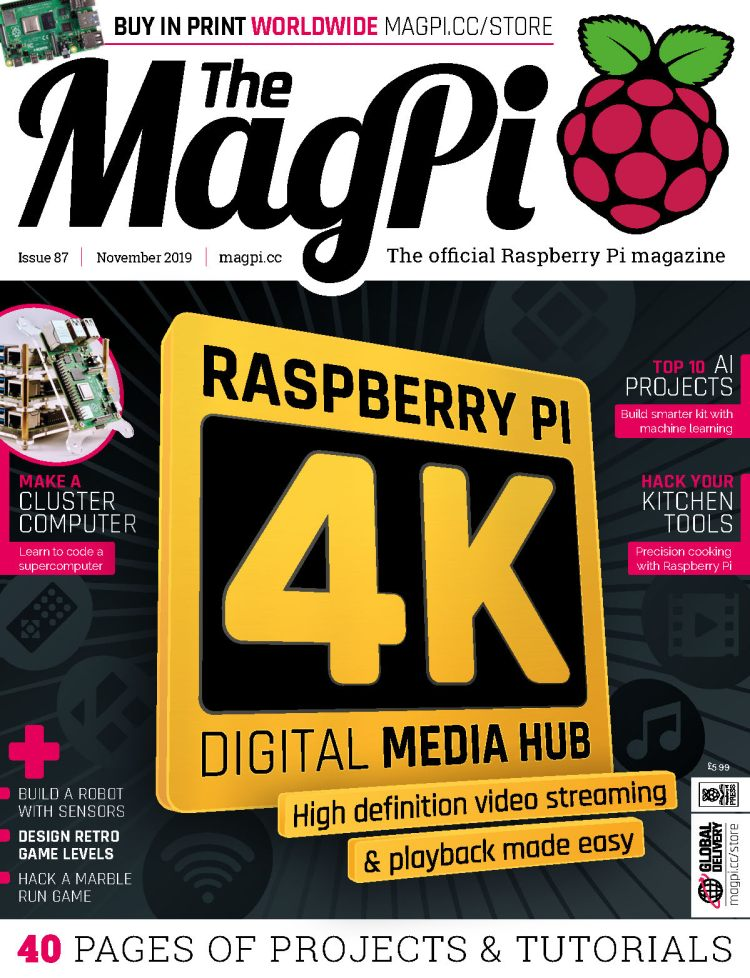 The MagPI Magazine, Issue 87
